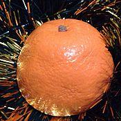 Косметика ручной работы. Ярмарка Мастеров - ручная работа Апельсин (половинка). Handmade.