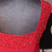 Одежда ручной работы. Ярмарка Мастеров - ручная работа Вышивка бисером и рубкой. Handmade.
