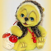 Куклы и игрушки ручной работы. Ярмарка Мастеров - ручная работа Солнечный ежик Сема. Handmade.