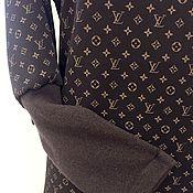 Одежда ручной работы. Ярмарка Мастеров - ручная работа Платье Louis Vuitton. Handmade.