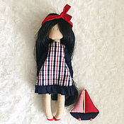 Куклы и игрушки ручной работы. Ярмарка Мастеров - ручная работа Куколка Морячка. Handmade.