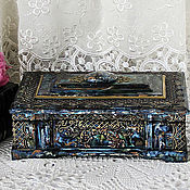 Для дома и интерьера handmade. Livemaster - original item Box for papers