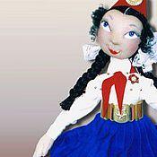 """Куклы и игрушки ручной работы. Ярмарка Мастеров - ручная работа Авторская кукла """"Пионерка Катя"""". Handmade."""