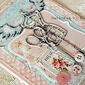 Открытки ручной работы. Ярмарка Мастеров - ручная работа Открытки в стиле шебби и в романтическом стиле. Handmade.