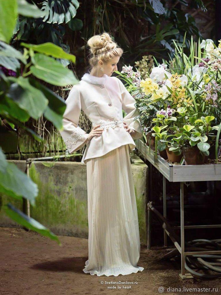 Пальто в дворянском стиле, Свадебные комплекты одежды, Москва,  Фото №1