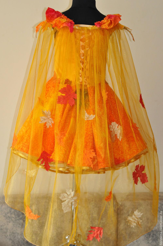 Осеннее платье своими руками легкие