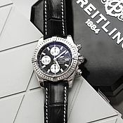 Украшения handmade. Livemaster - original item Crocodile leather Breitling watchband. Handmade.