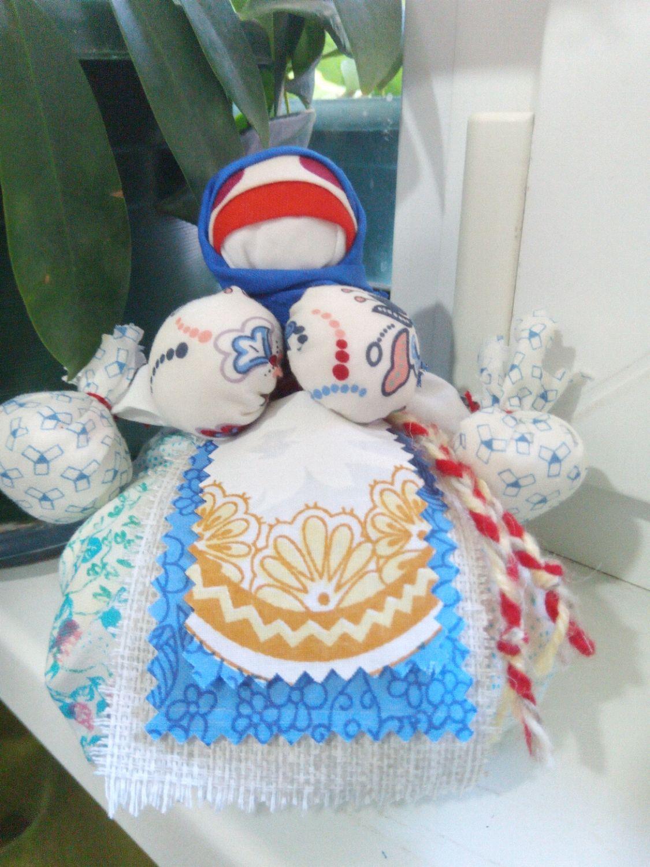 Кукла-оберег Кубышка-Травница(к ней подарок-свежая лаврушка), Народная кукла, Сочи,  Фото №1