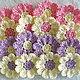 """Цветы ручной работы. Ярмарка Мастеров - ручная работа. Купить """"Как богата природа красками"""" Цветочки вязаные крючком. Handmade."""