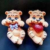 Косметика ручной работы handmade. Livemaster - original item soap: Tiger cub baby. Handmade.