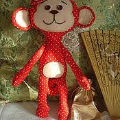 Куклы и игрушки ручной работы. Ярмарка Мастеров - ручная работа Игрушка обезьянка Анфиска. Handmade.