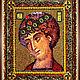 Набор `Образа в каменьях` икона Святой Георгий Победоносец