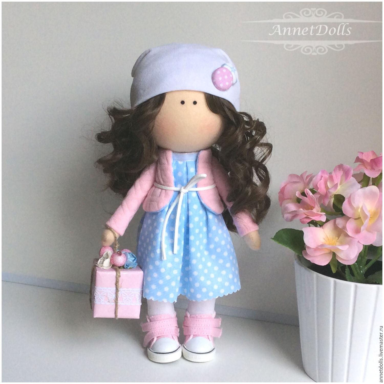 Интерьерные куклы своими руками из ткани фото 30