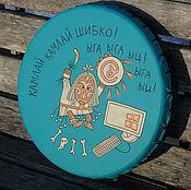 Музыкальные инструменты handmade. Livemaster - original item Sisadminyi tambourine. Tambourine.. Handmade.