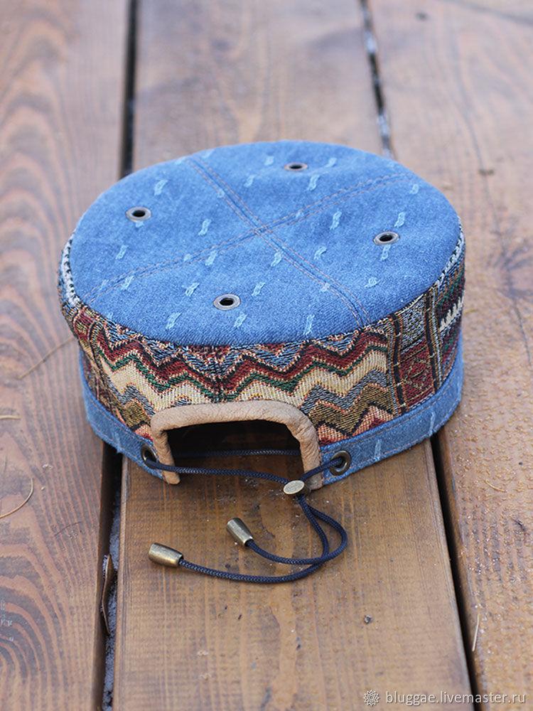 25d0488d22c2c Hats handmade. African cap kufi skullcap Marrakech MRK-07. Bluggae Custom.