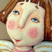 """Куклы и игрушки ручной работы. Ярмарка Мастеров - ручная работа текстильная грунтованная кукла """"Ангел №2"""". Handmade."""