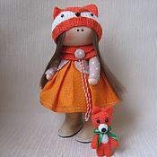 """Тыквоголовка ручной работы. Ярмарка Мастеров - ручная работа """"Алиса"""" Текстильная кукла. Handmade."""