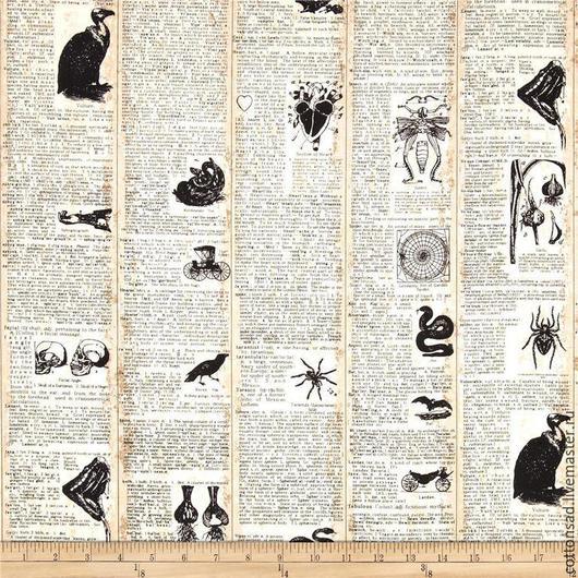 """Шитье ручной работы. Ярмарка Мастеров - ручная работа. Купить Хлопок 100% (4 вида) """"Леденящая жуть"""". Американская ткань.. Handmade."""