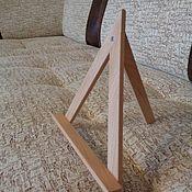 Для дома и интерьера ручной работы. Ярмарка Мастеров - ручная работа Мини мольберт подставка 20 см. (Бук). Handmade.