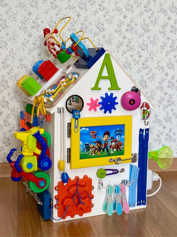 Бизиборд дом. Отличный подарок для малыша!, Бизиборды, Сургут,  Фото №1