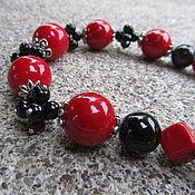 Украшения handmade. Livemaster - original item Original necklace beads made of large natural stones. Handmade.