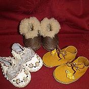 Куклы и игрушки ручной работы. Ярмарка Мастеров - ручная работа обувь для мишек и кукол. Handmade.