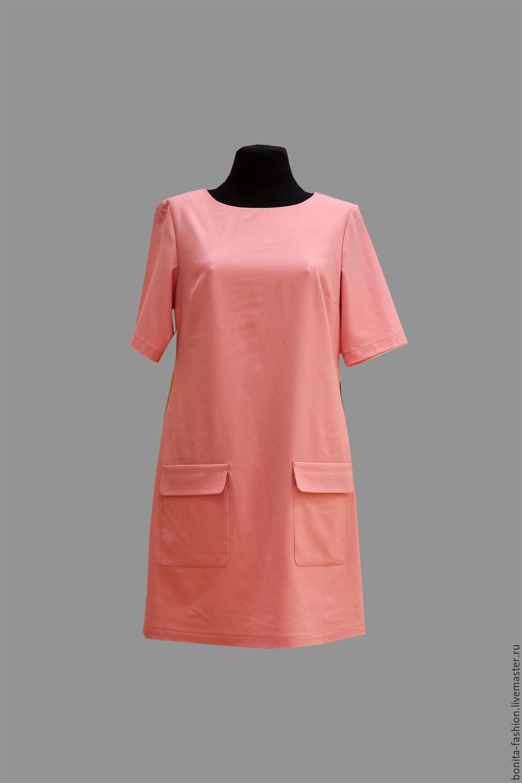 Платья из тонкой шерсти с цветами