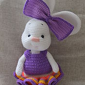 Куклы и игрушки ручной работы. Ярмарка Мастеров - ручная работа Зайка Злата. Handmade.