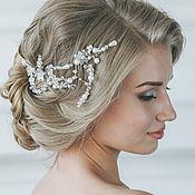 Свадебный салон ручной работы. Ярмарка Мастеров - ручная работа Свадебный венок для волос. Венок на голову. Украшение для невесты. Handmade.