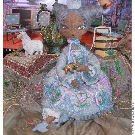 Коллекционные куклы ручной работы. Ярмарка Мастеров - ручная работа. Купить Грустная принцесса. Handmade. Комбинированный, текстильная кукла