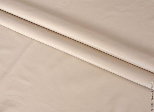 Шитье ручной работы. Ярмарка Мастеров - ручная работа. Купить Натуральная кожа для блокнотов, цветов 0,6 мм - Латте. Handmade.