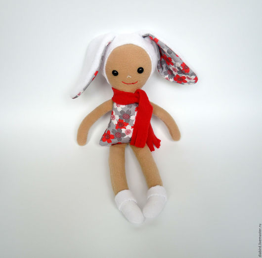 Детская ручной работы. Ярмарка Мастеров - ручная работа. Купить Игровая кукла Зайка.. Handmade. Комбинированный, кукла зайка