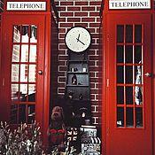 Для дома и интерьера ручной работы. Ярмарка Мастеров - ручная работа Шкаф в прихожую - английская телефонная будка. Handmade.
