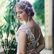 Свадебный салон handmade. Livemaster - original item The wreath in the hair of the bride. Handmade.