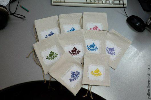 Подарки на Пасху ручной работы. Ярмарка Мастеров - ручная работа. Купить Пасхальные мешочки. Handmade. Разноцветный, пасхальный подарок, упаковка