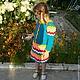 Одежда для девочек, ручной работы. Платье для девочки. Ирина Мажуга (Мультан) (MIRA060609). Ярмарка Мастеров. Платье вязаное, платье теплое