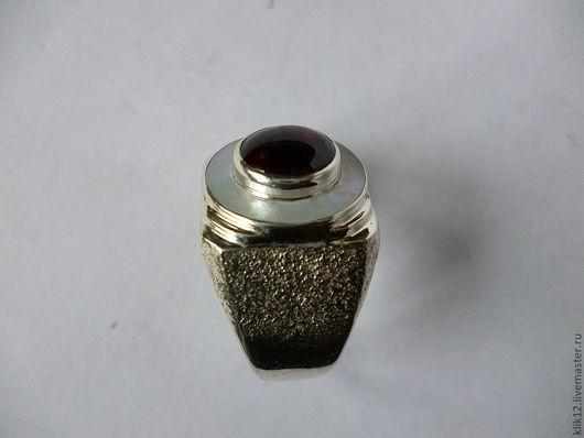 """Кольца ручной работы. Ярмарка Мастеров - ручная работа. Купить перстень""""Изящный 1"""" авторская работа художника. Handmade. Ярко-красный"""