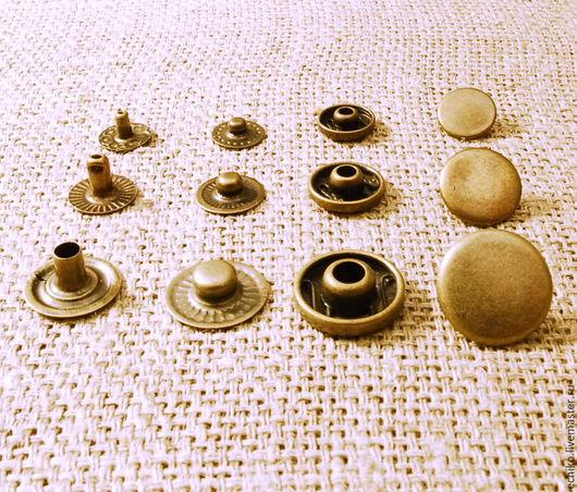 """Другие виды рукоделия ручной работы. Ярмарка Мастеров - ручная работа. Купить Кнопки тип""""Альфа""""15мм,12.5мм,10мм.. Handmade."""