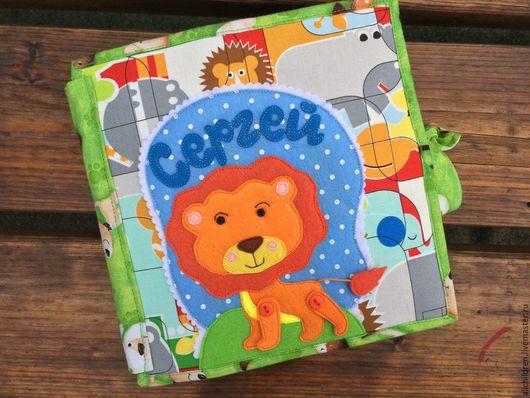 Развивающие игрушки ручной работы. Ярмарка Мастеров - ручная работа. Купить Развивающая книжка для малыша. Handmade. Развивающая игрушка