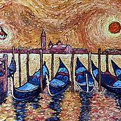 Картины и панно handmade. Livemaster - original item Pictures: Oil painting. Venice. Handmade.