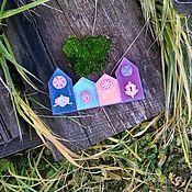 Сувениры и подарки handmade. Livemaster - original item set of houses. Handmade.