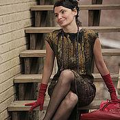 """Одежда ручной работы. Ярмарка Мастеров - ручная работа авторское платье """"True Lady"""". Handmade."""