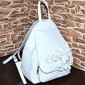 Сумки и аксессуары handmade. Livemaster - original item Model 04 Exclusive backpack made of genuine leather. Handmade.