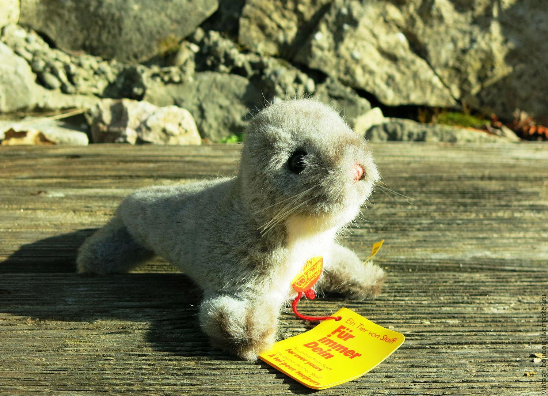Винтаж: Морской котик Оли фирмы Штайф, Игрушки винтажные, Хейденхейм-ан-дер-Бренц,  Фото №1