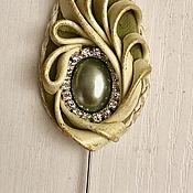 Украшения handmade. Livemaster - original item The brooch is JUST a LEAF. Handmade.