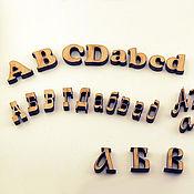 Материалы для творчества ручной работы. Ярмарка Мастеров - ручная работа Декоративные буквы. Handmade.