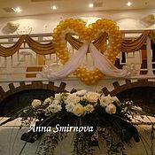 Цветы и флористика ручной работы. Ярмарка Мастеров - ручная работа Свадебная композиция на стол. Handmade.
