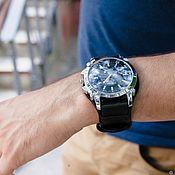 Watch Straps handmade. Livemaster - original item Watchband genuine leather. Handmade.