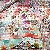"Материалы для творчества manualidades. Livemaster - hecho a mano Шелк-атлас Antonio Marras ""Шарлотта"" итальянские ткани. Handmade."