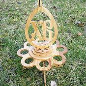Для дома и интерьера ручной работы. Ярмарка Мастеров - ручная работа Подставка для яиц. Handmade.